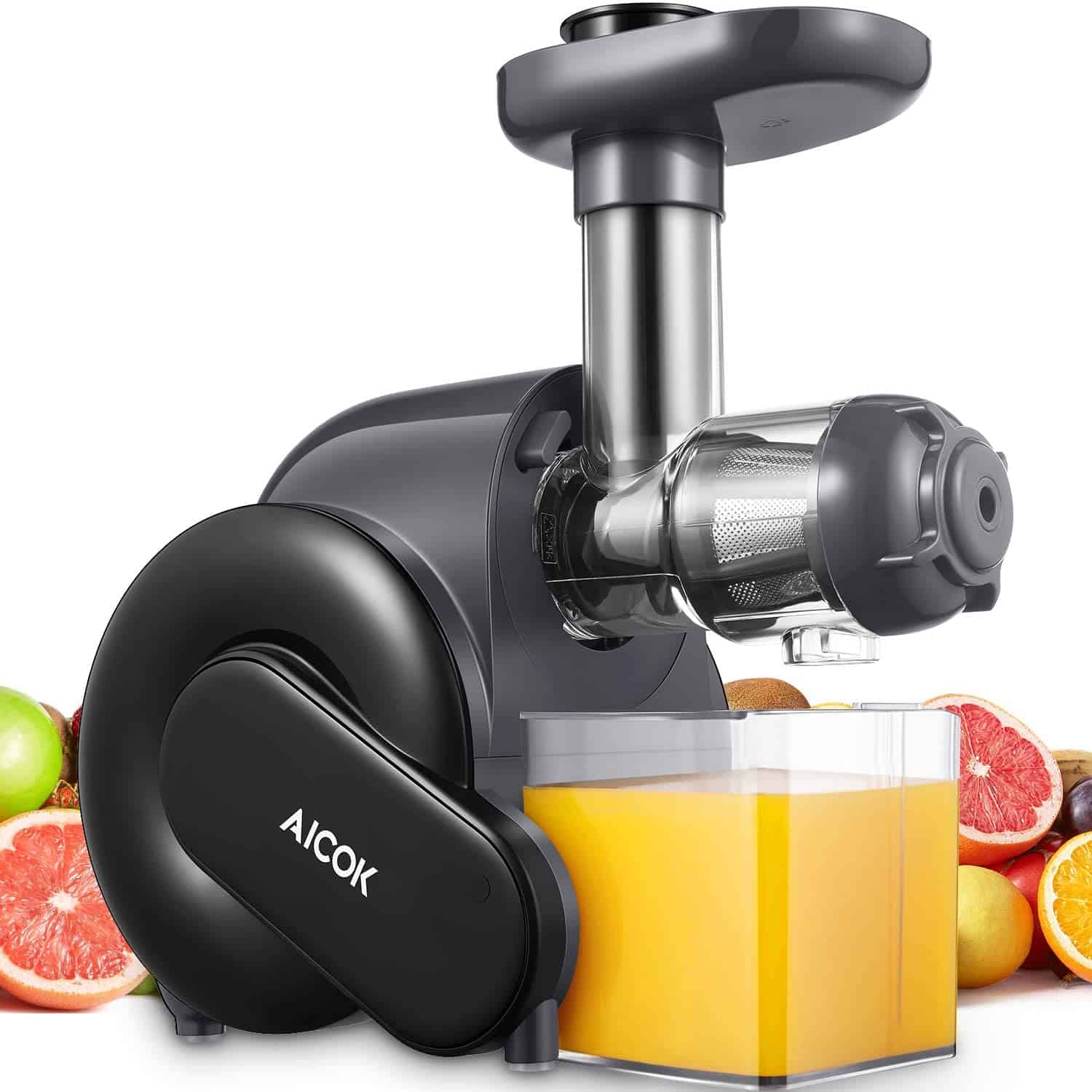 Aicok Slow Masticating Juicer with Quiet Motor