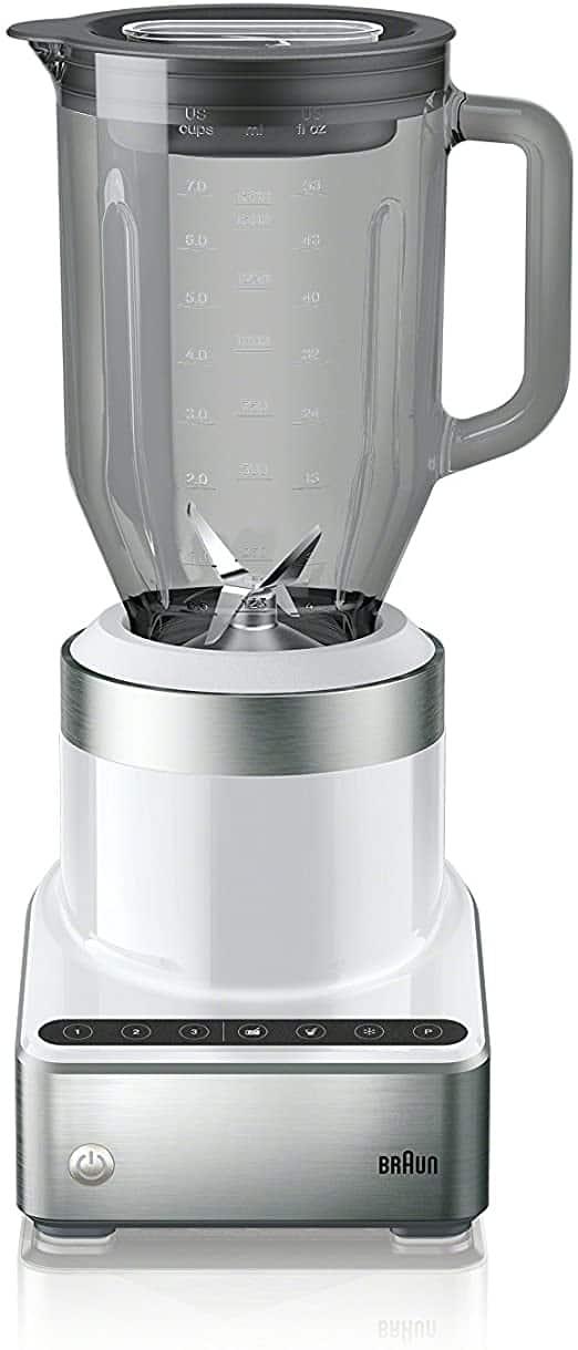 Braun PureMix Power Blender with Thermal Resistant Glass Jug