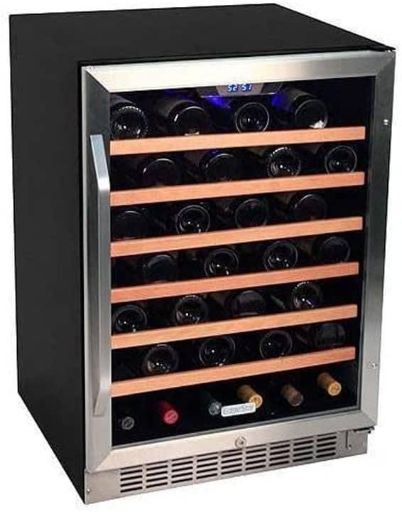 EdgeStar 53 Bottle Built In Wine Cooler