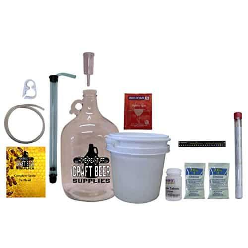 HomeBrewStuff One Gallon Nano Meadery Premium Mead Kit