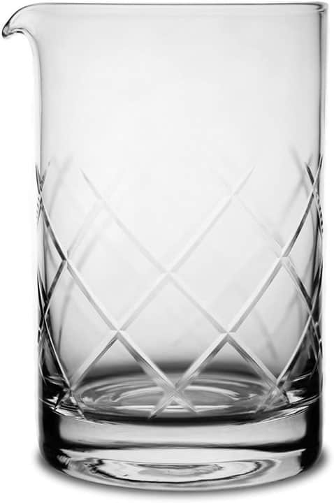 Japanese Style Seamless Mixing Glass Stirring Cocktail by Kotai 750 ML