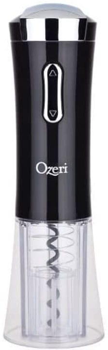 Ozeri Nouveaux Electric Removable Free Foil Cutter Wine Opener One Size Black