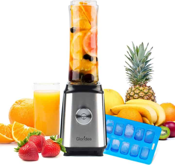 The Gloridea Personal Blender for Shakes and Smoothies