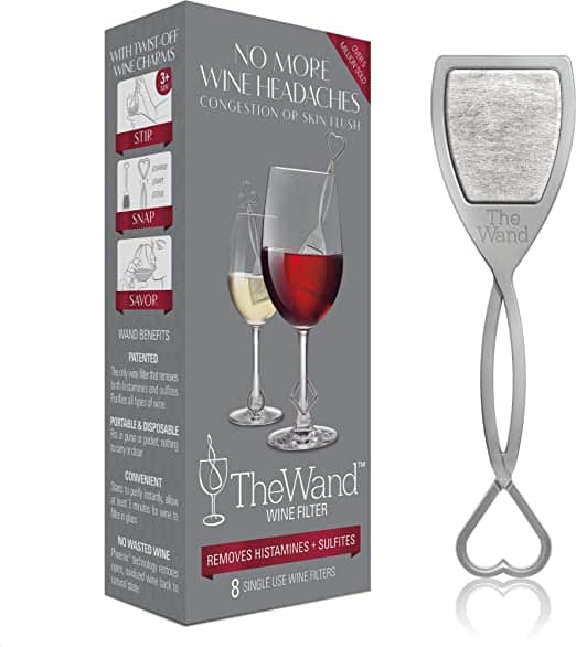 The Wand Wine Filter by PureWine Removes Sulfites 1