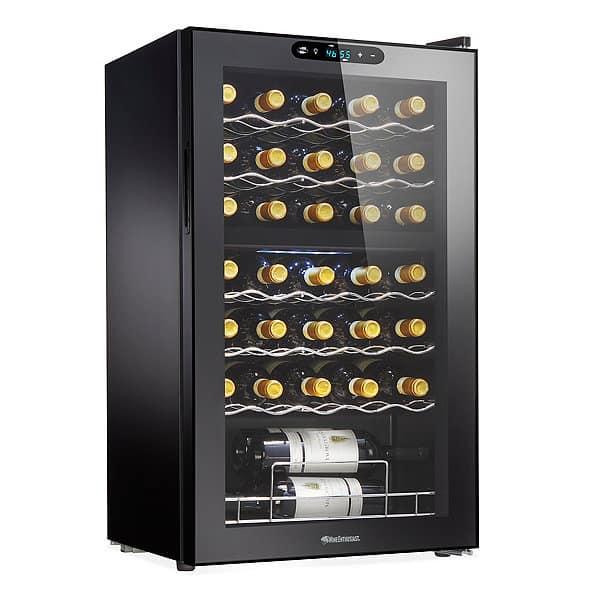 Wine Enthusiast 32 Bottle Dual Zone MAX Compressor Wine Cooler