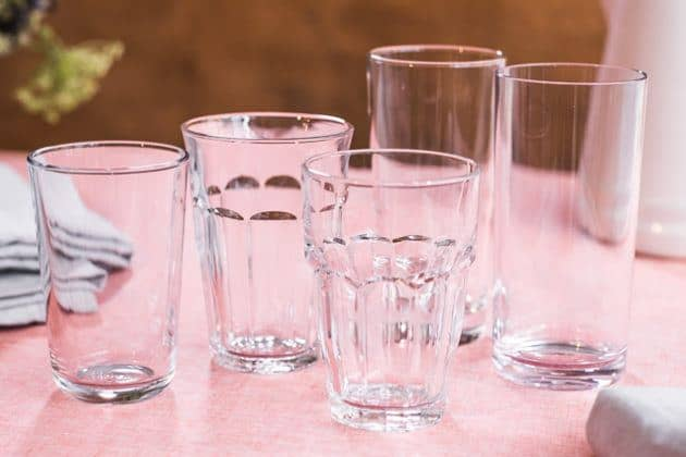 best acrylic drinking glasses