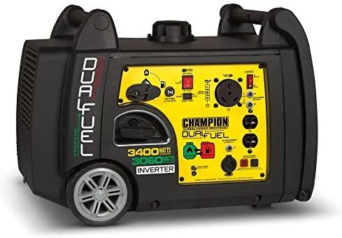 Champion 3400watt Dual Fuel RV Ready Portable
