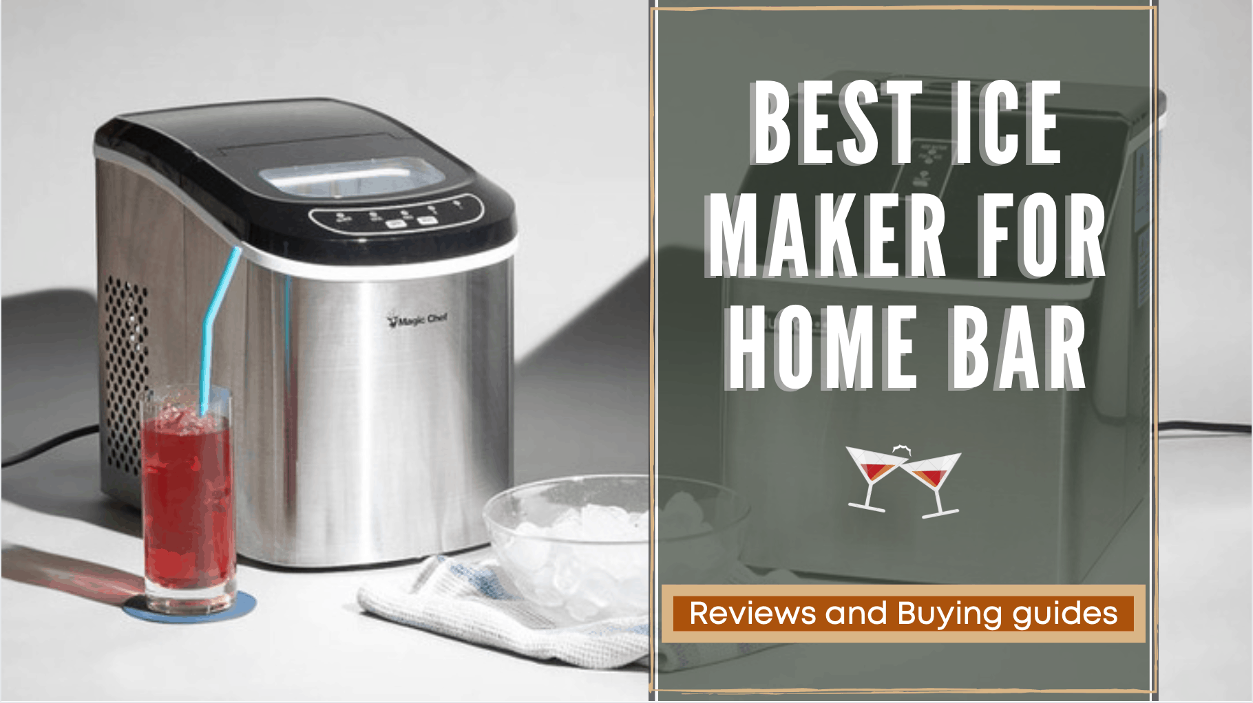 Top 15 Best Ice Maker For Home Bar Reviews Comparison 2021