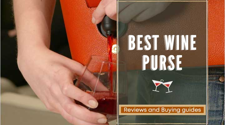 best wine purse