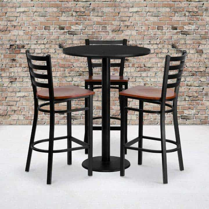 commercial outdoor bar stools
