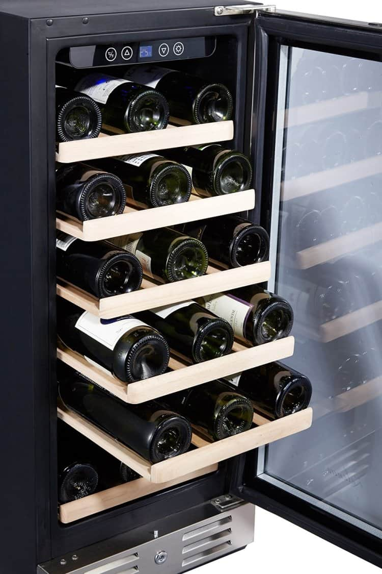Kalamera 30 Bottle Wine Refrigerator 2