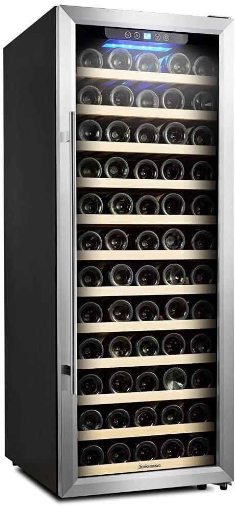Kalamera 80 Bottle Freestanding Compressor Wine Cooler