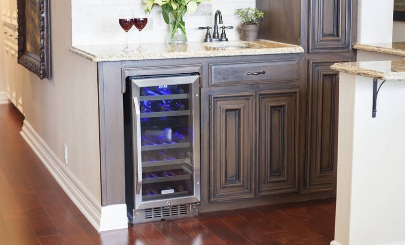 best 15 inches wide wine cooler