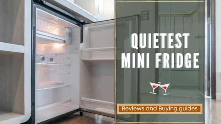quietest mini fridge