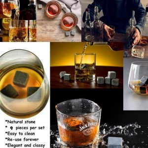 how to clean whiskey stones